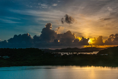 Sunrise in Antigua and Barbuda
