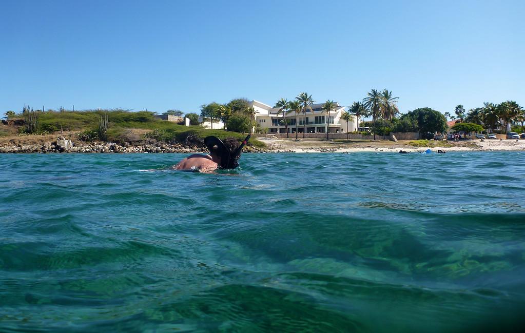 Snorkeling at Boca Catalina Beach