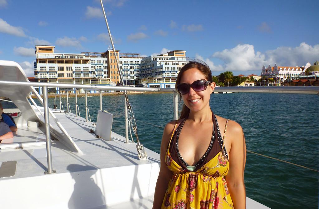 Lauren in Aruba