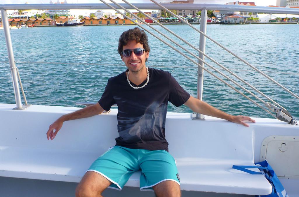 Justin in Aruba