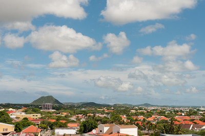 View of the skyline in Aruba