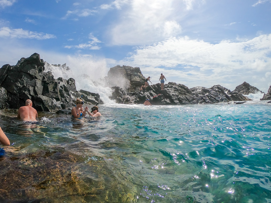 Natural Pool in Aruba