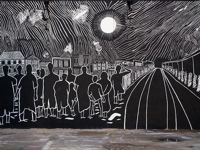 Street art in Oranjestad, Aruba