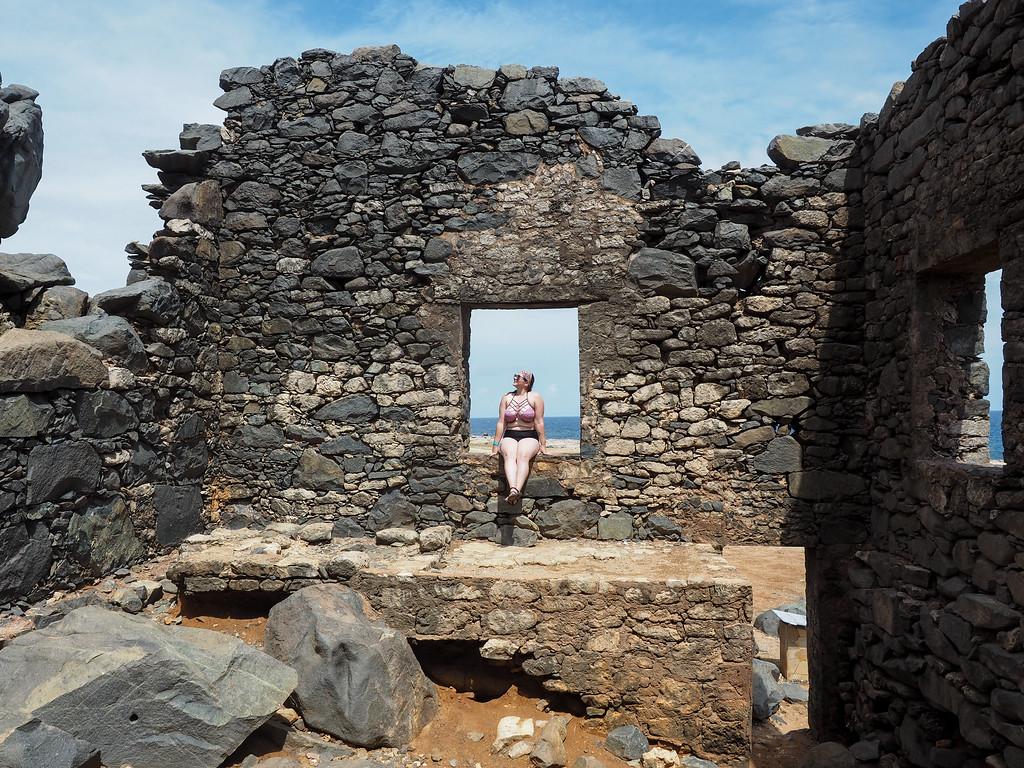 Bushiribana Gold Mill Ruins in Aruba