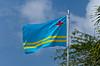 The National flag of Aruba.