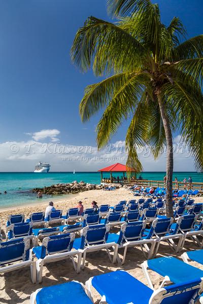 on Princess Cays, Bahamas.