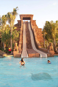 Water Slide at Atlantis Resort