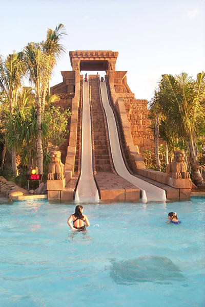 Water Slide at Atlantis Resort