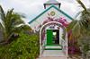 The Bahamian Church on Half Moon Cay, Bahamas, Caribbean.