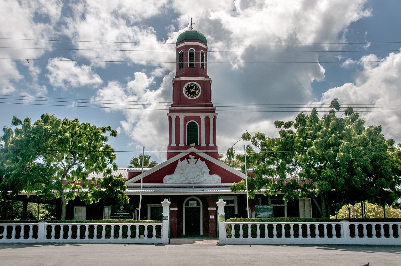 Main Guard Clock Tower at the Garrison, Savannah, Bridgetown, Barbados
