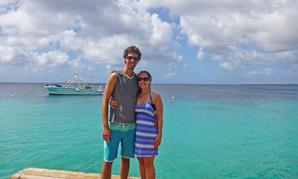Justin Plus Lauren in the Caribbean