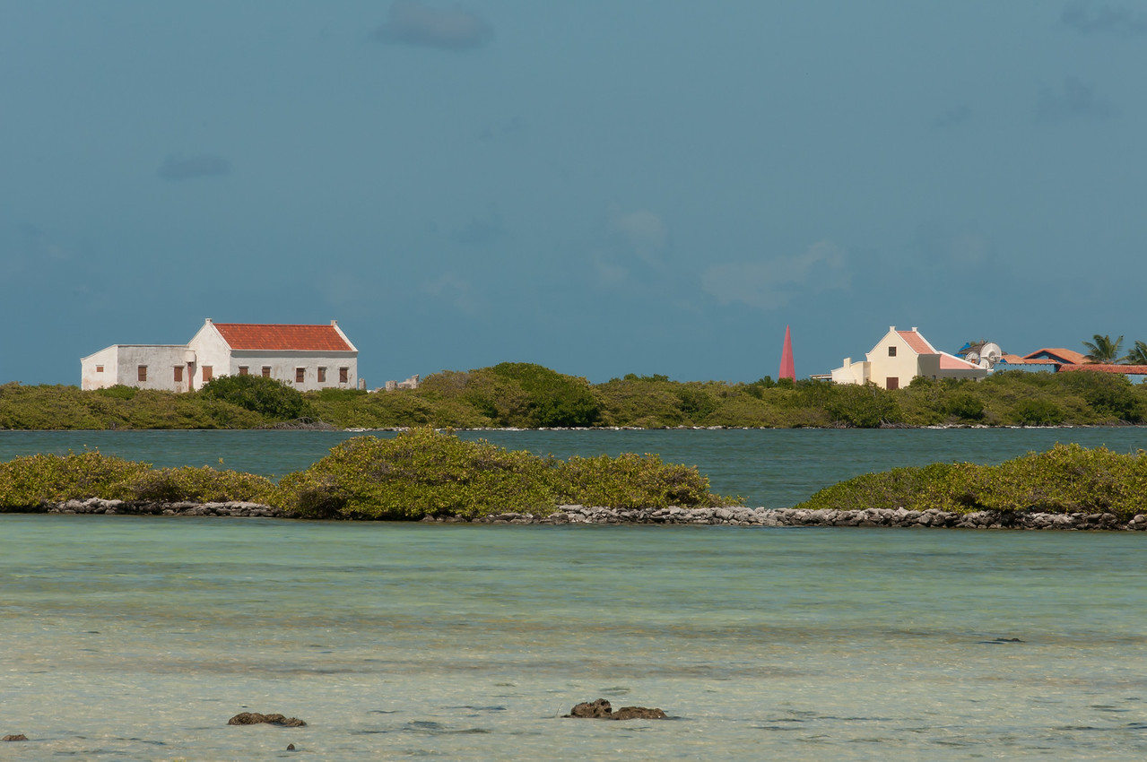 Seascape on the island of Bonaire