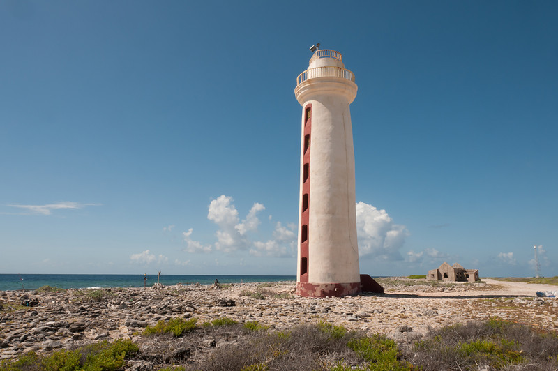 Willemstoren Lighthouse on the island of Bonaire