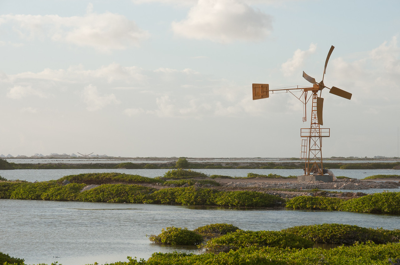 Windmill on the island of Bonaire