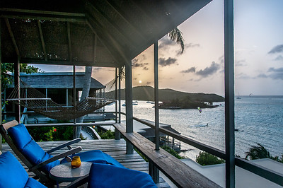 Sunset at Bitter End Yacht Club, British Virgin Islands