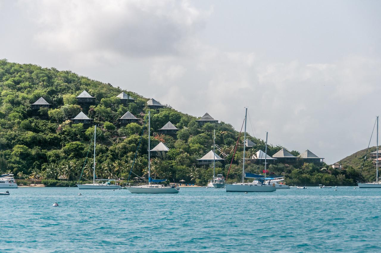 Yachts at the British Virgin Islands