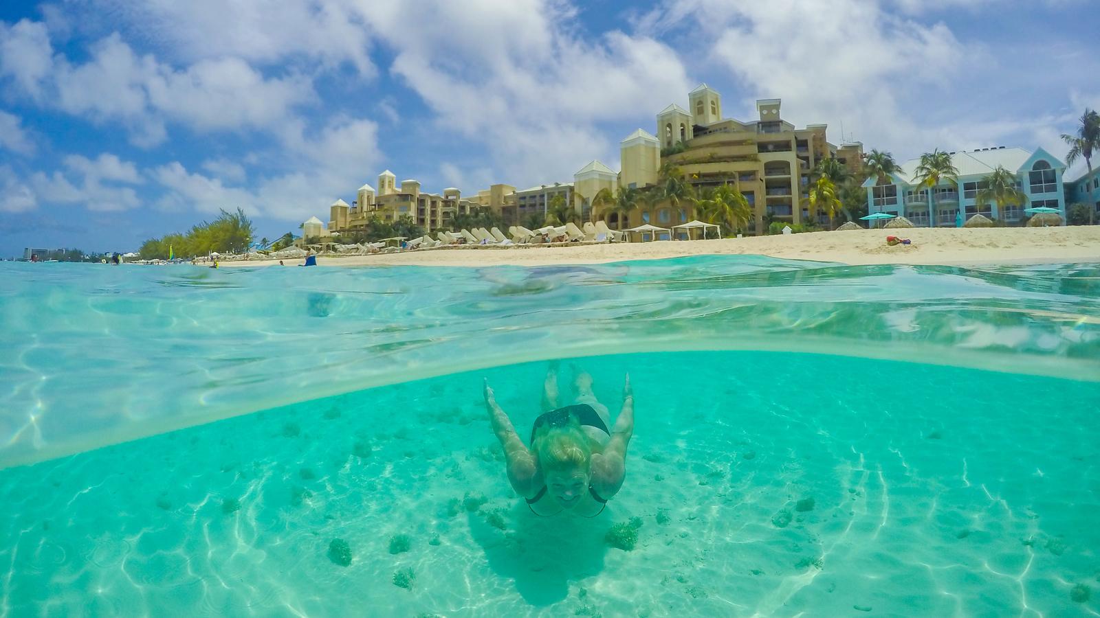 Underwater fun in Grand Cayman