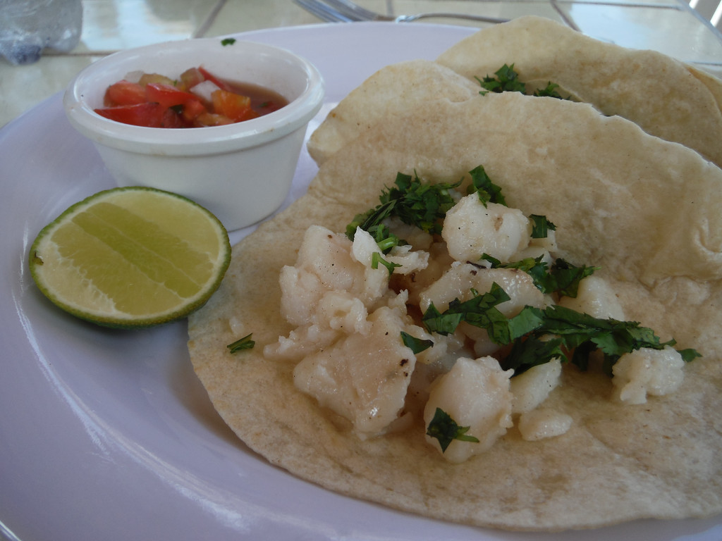Mr Sanchos All Inclusive Fish Tacos