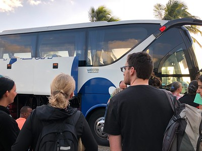 Boarding the Viazul Bus