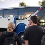 Boarding the Viazul Bus