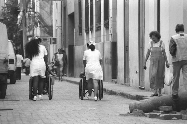 Nurses' Stroll - Havana, Cuba