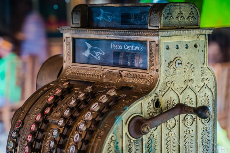 Antique Cash Register in Cuba