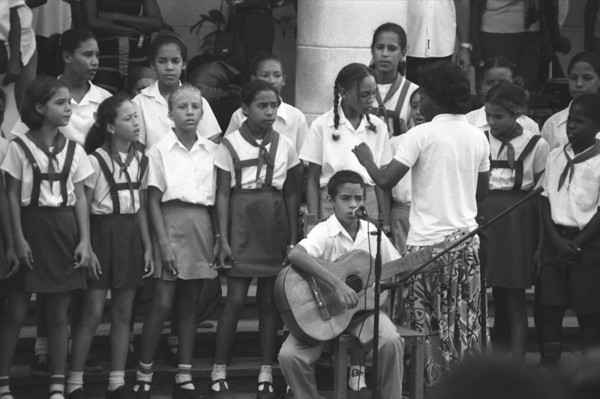 Singing Students - Baracoa, Cuba