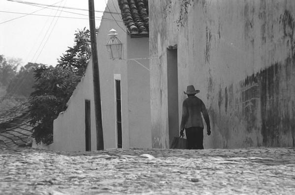 Walking Alone - Trinidad, Cuba