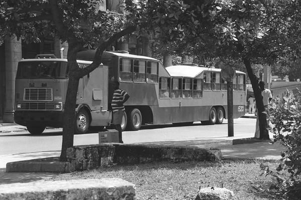 El Camello (Camel) Bus - Havana, Cuba