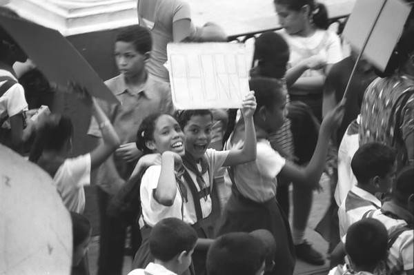 Ahorra (It Saves) Sign - Santiago, Cuba
