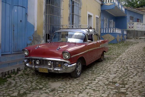 Classic American Car - Trinidad, Cuba