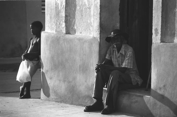 Young Boy and Old Man - Santiago, Cuba