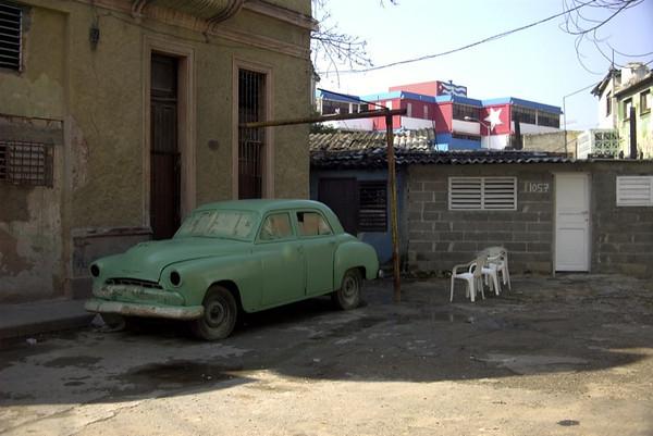 Green Car - Havana, Cuba