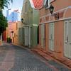 The historic Kura Hulanda  Hotel in Willemstad, Curacao