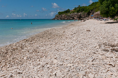 Beach at the Kura Hulanda Resort in Curacao
