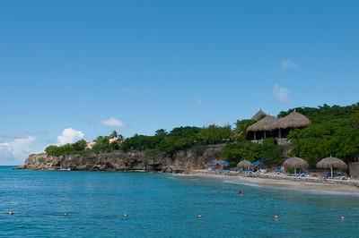 Beach at the Kura Hulanda Resort in Curacao