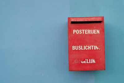 Mailbox in Willemstad, Curacao