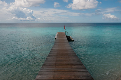 Dock at Kura Kulanda Lodge Willemstad, Curacao