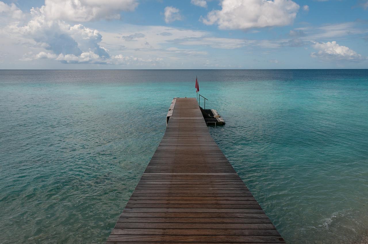 Dock at Kura Kulanda Lodge Willemstad, Curacao