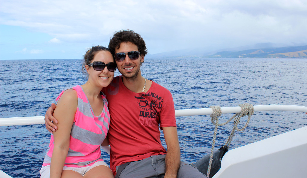 Justin and Lauren in Dominica, Caribbean