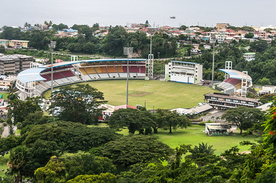 The Windsor Park Stadium in Dominica
