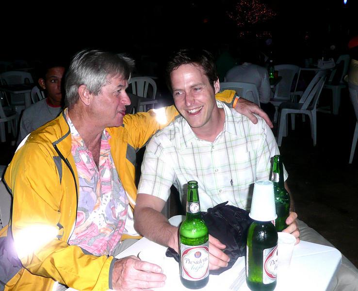 Bruce and Geoff Graham