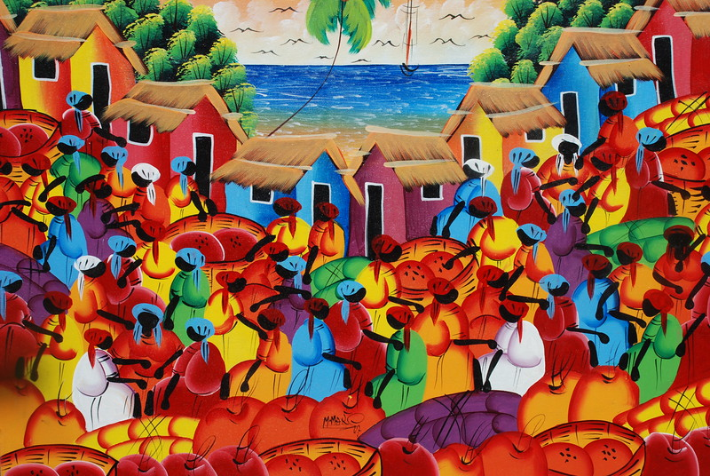 Local Art from the Dominican Republic
