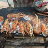 put the prawns on the barby