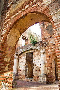 Ruins of the Hospital de San Nicolás de Bari