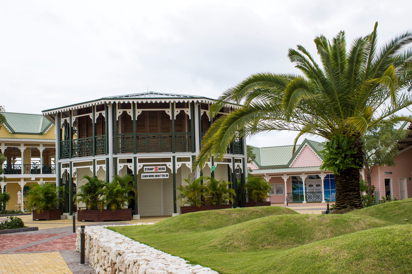 Amber Cove Cruise Port Guide - Dominican Republic - Gazebo to get passport stamped