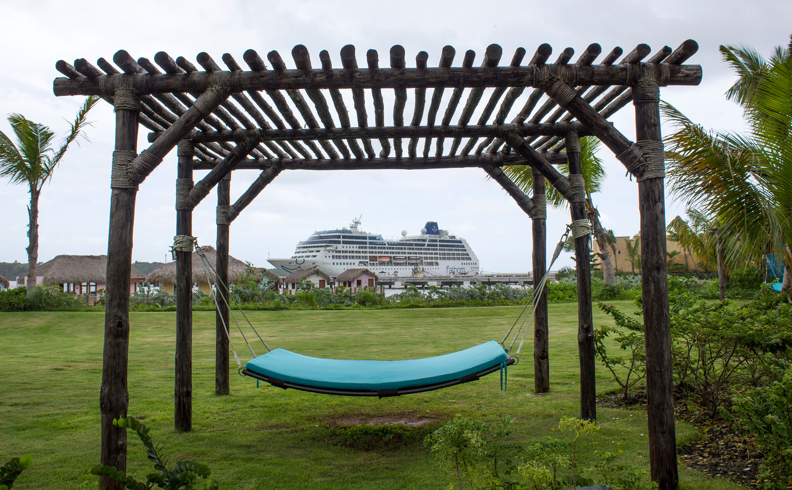 Amber Cove Dominican Republic Cruise Ship Port Guide - Hammocks to relax