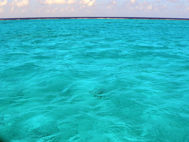 Crystal clear waters in the North Sound, Grand Cayman