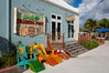 Jimmy Buffet's Trading Post at the cruise ship terminal in Grand Turk, Turks and Caicos Islands.