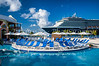 The Holland America cruise ship Westerdam at the cruise ship terminal in Grand Turk, Turks and Caicos Islands.